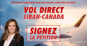 Direct Flight Lebanon Canada